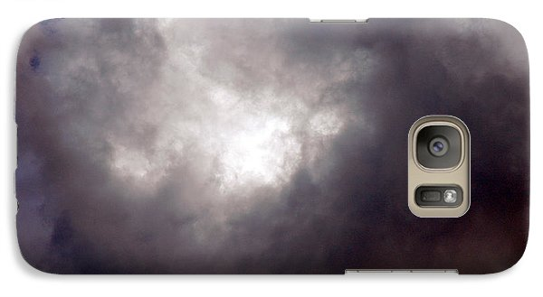 Galaxy Case featuring the photograph Gray Cloud by Allen Carroll
