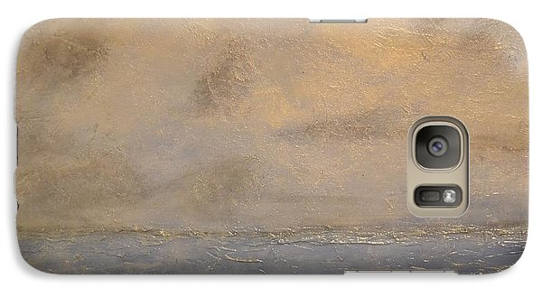 Galaxy Case featuring the painting Gray Dawn by Lori Jacobus-Crawford