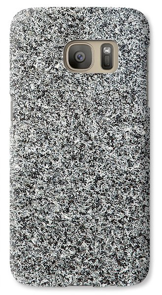 Gray Granite Galaxy S7 Case by Alexander Senin