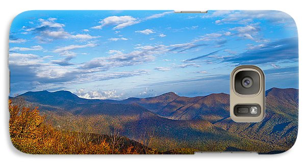 Galaxy Case featuring the photograph Graybeards Mountain by Debra Crank