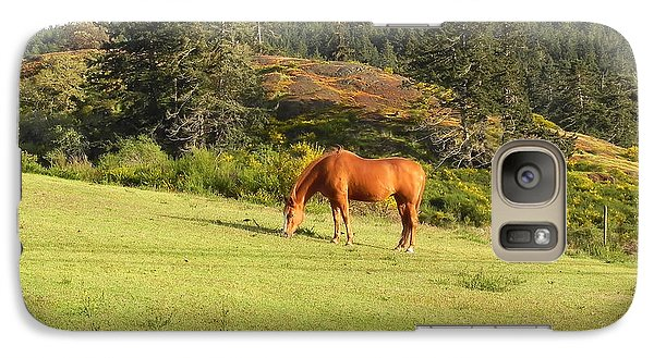 Galaxy Case featuring the photograph Grazing by Cheryl Hoyle