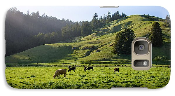 Galaxy Case featuring the photograph Grazing Hillside by CML Brown