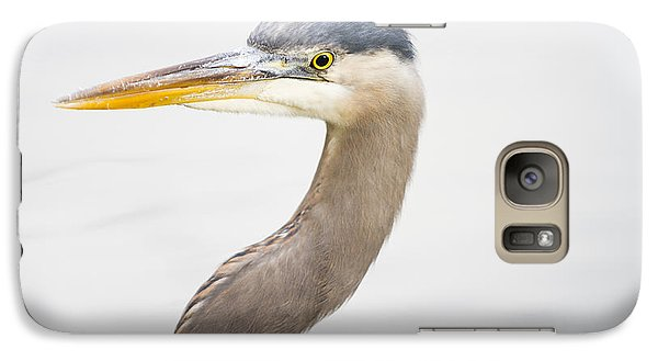 Great Blue Heron Galaxy S7 Case