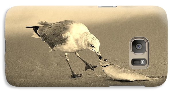 Galaxy Case featuring the photograph Great Catch With Fish by Cynthia Guinn