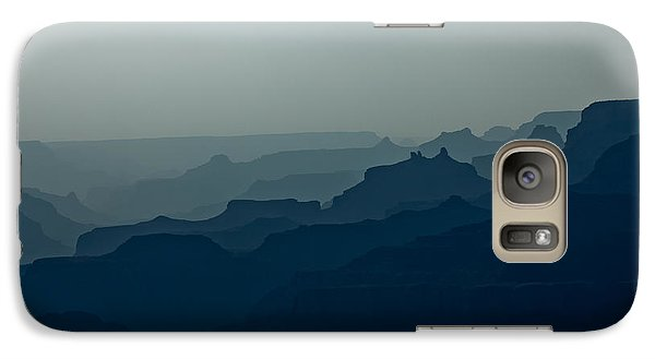Galaxy Case featuring the photograph Great Crevice by Joel Loftus
