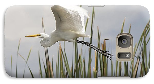 Galaxy Case featuring the photograph Great Egret by David Grant