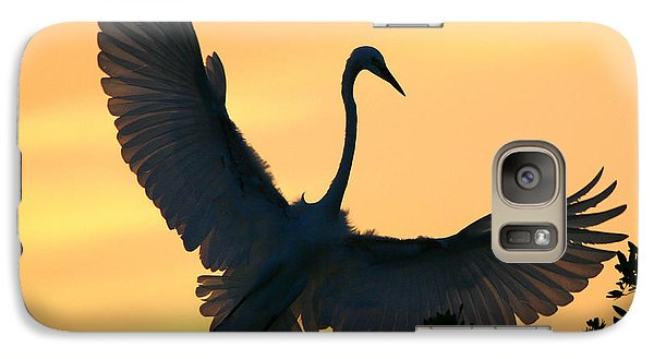 Galaxy Case featuring the photograph  Sunset Ballet by John F Tsumas