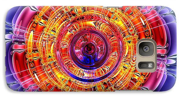 Galaxy Case featuring the digital art Great Energy by Pete Trenholm