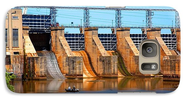Galaxy Case featuring the photograph Great Falls Dam by Bob Pardue