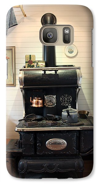 Galaxy Case featuring the photograph Great-grandma's Stove by Gerry Bates