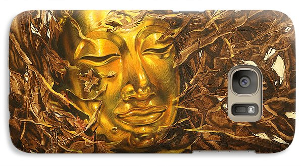 Galaxy Case featuring the painting Great Nuisance by Chonkhet Phanwichien