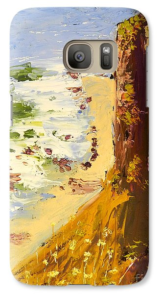 Galaxy Case featuring the painting Great Ocean Road by Pamela  Meredith
