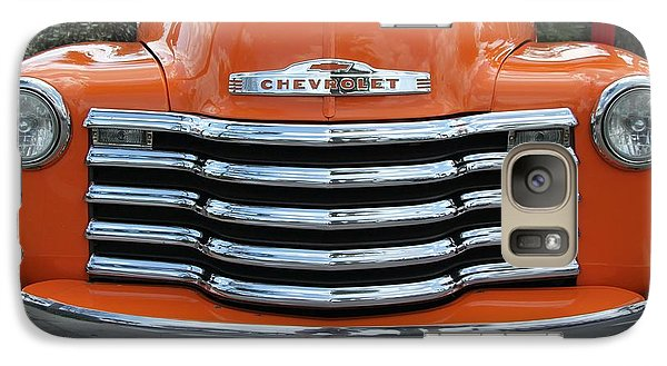 Galaxy Case featuring the photograph Great Pumpkin Chevrolet II by Dodie Ulery