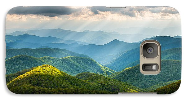 Great Smoky Mountains National Park Nc Western North Carolina Galaxy S7 Case by Dave Allen