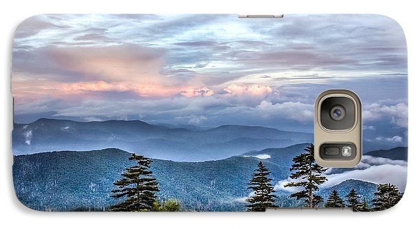 Galaxy Case featuring the photograph Great Smoky Mountains by Rob Sellers