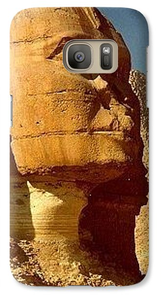 Galaxy S7 Case featuring the photograph Great Sphinx Of Giza by Travel Pics