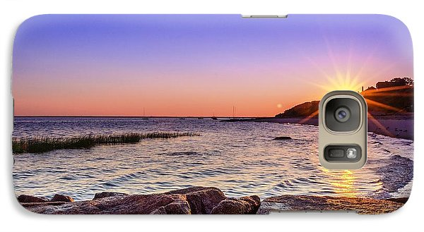 Galaxy Case featuring the photograph Saints Landing Cape Cod by Mike Ste Marie