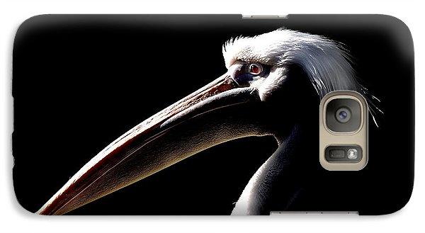 Great White Pelican Galaxy S7 Case by Mark Rogan