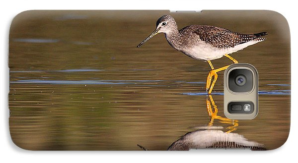 Galaxy Case featuring the photograph Greater Yellow Legs by Ruth Jolly