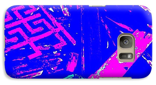 Galaxy Case featuring the digital art Greco-celtic Relic by Peter Gumaer Ogden