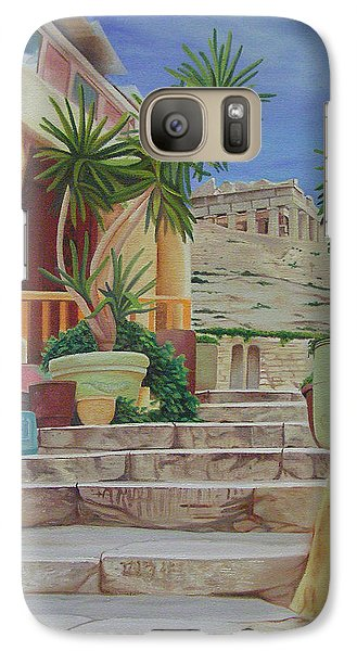 Galaxy Case featuring the painting Greece by Joshua Morton