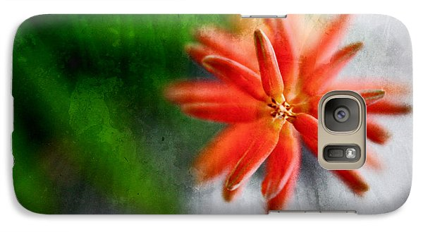 Galaxy Case featuring the photograph Green And Orange by Sandy Moulder