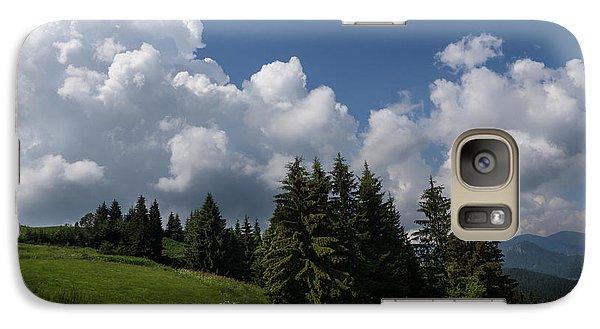 Galaxy Case featuring the photograph Green Ball Gowns  by Georgia Mizuleva