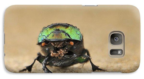 Green Beetle Galaxy S7 Case
