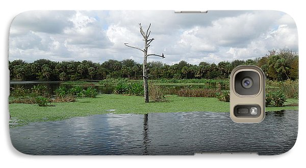 Galaxy Case featuring the photograph Green Cay Panorama by Ron Davidson