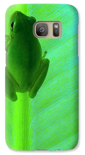 Galaxy Case featuring the photograph Green Day by Faith Williams