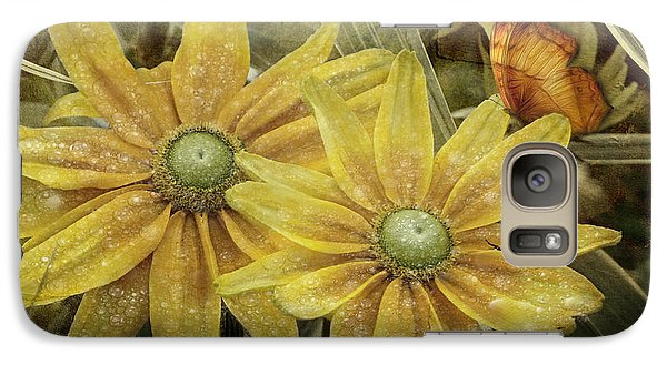 Galaxy Case featuring the photograph Green Eyed Susie by Barbara Orenya