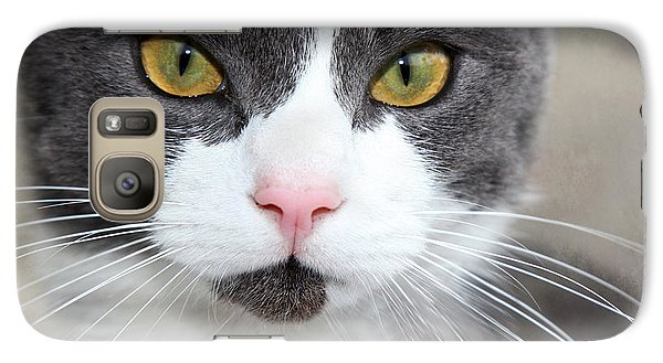 Galaxy Case featuring the photograph Green Eyes by Annie Snel
