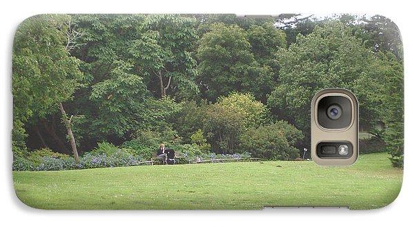 Galaxy Case featuring the photograph Green Garden by Hiroko Sakai