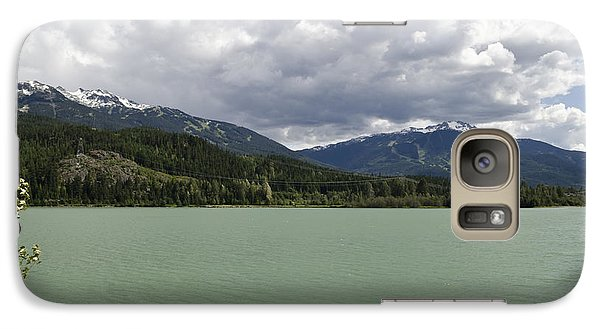 Galaxy Case featuring the photograph Green Lake At Whistler by Maria Janicki