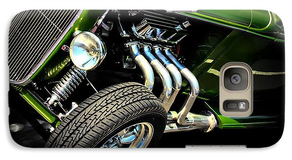 Vintage Car Galaxy Case featuring the photograph Green Machine  by Aaron Berg