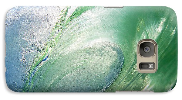 Galaxy Case featuring the photograph Green Machine by Paul Topp