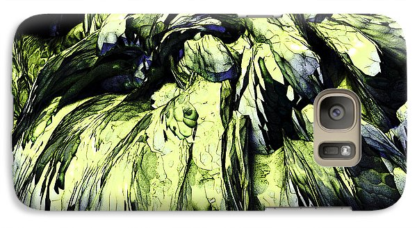 Galaxy Case featuring the digital art Green by Matt Lindley
