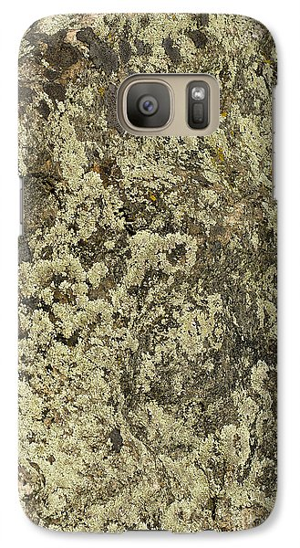 Galaxy Case featuring the photograph Green Moss by Les Palenik