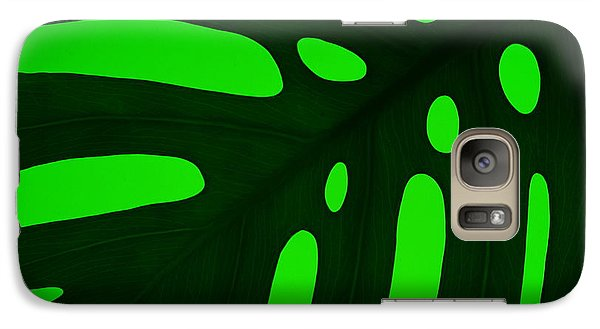 Galaxy Case featuring the photograph Green On Green by Trena Mara