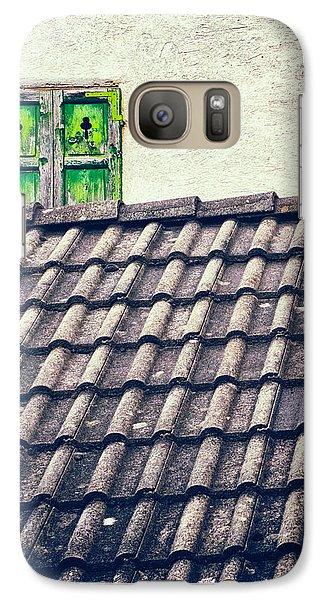 Green Shutters Galaxy S7 Case by Silvia Ganora