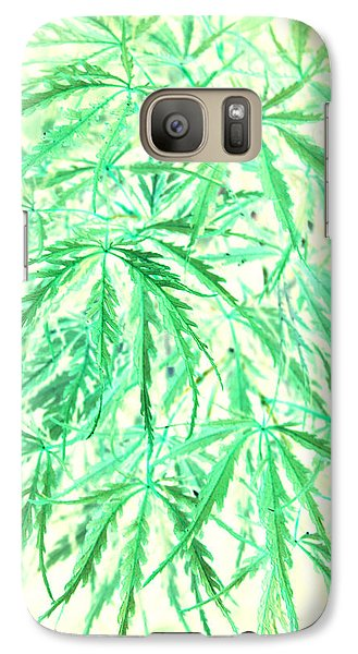 Galaxy Case featuring the photograph Green Splender by Jamie Lynn