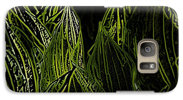 Galaxy Case featuring the photograph Green Spring by Jeanette French