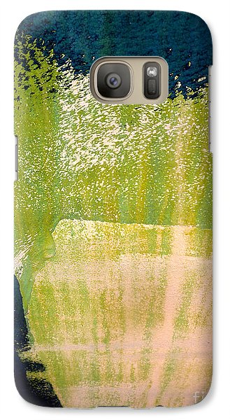 Galaxy Case featuring the photograph Green Sweep by Robert Riordan