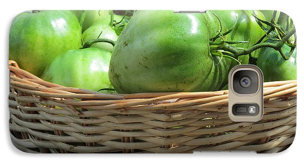 Galaxy Case featuring the photograph Green Tomatoes by Tina M Wenger