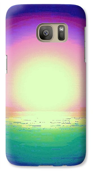 Galaxy Case featuring the photograph Green Water by Shirley Moravec
