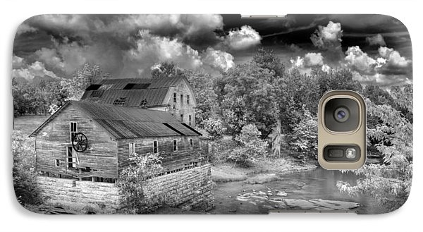 Galaxy Case featuring the photograph Greens Mill At Falls Of Rough Kentucky by Wendell Thompson