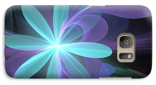 Galaxy Case featuring the digital art Greetings From Ethereal Realms by Svetlana Nikolova