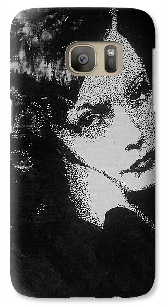 Galaxy Case featuring the painting Greta Garbo by Cherise Foster