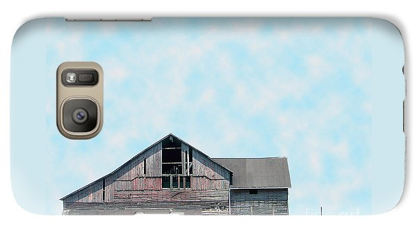 Galaxy Case featuring the photograph Grey Barn by Gena Weiser