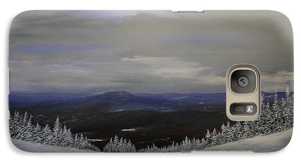 Galaxy Case featuring the painting Grey Day by Ken Ahlering